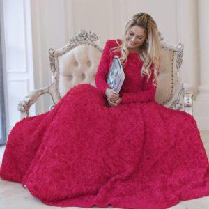 Наталья Рудова для LOOK BOOK Christmas Collection Yulia Prokhorova Beloe Zoloto