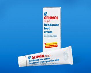 Крем-дезодорант для ног Геволь мед (Gehwol med Deodorant foot cream)