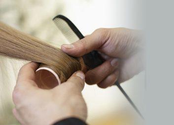 Окрашивание одной пряди