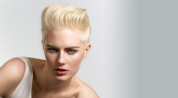 Блондирование корней волос