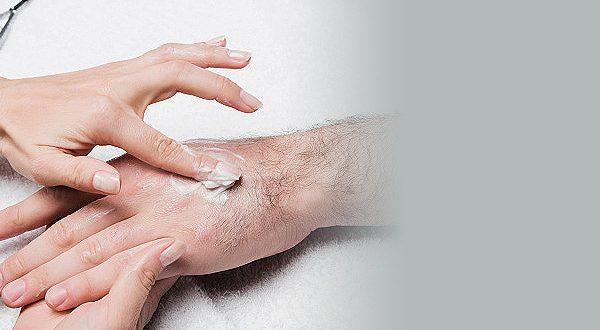Парафинотерапия рук мужских