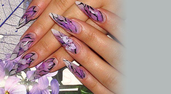 Снятие типсов с ногтей