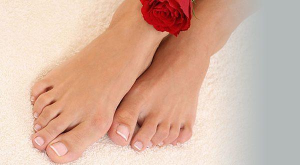 Выравнивание ногтевой пластины, гель/акрил на ногах