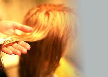 Предварительное окрашивание волос