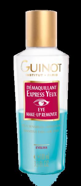 Dеmaquillant Express Yeux- Двухвазное средство экспресс очищения для области глаз
