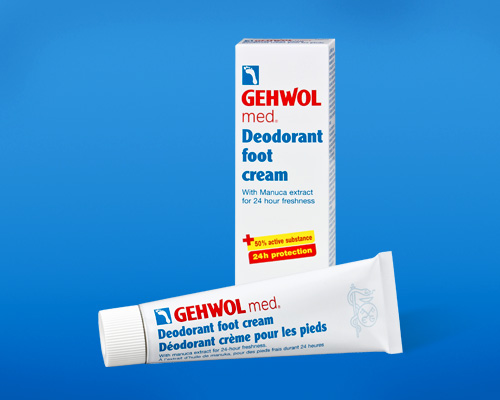 Крем-дезодорант для ног Геволь мед (Gehwol med Deodorant foot cream)