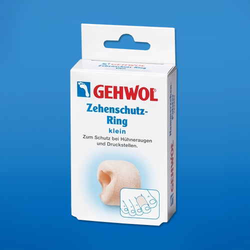 Кольца для пальцев защитные Геволь, малые (Gehwol Zehenschutz-Ring)