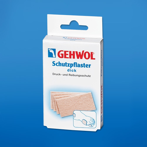 Защитный пластырь Геволь, толстый (Gehwol Schutzpflaster)