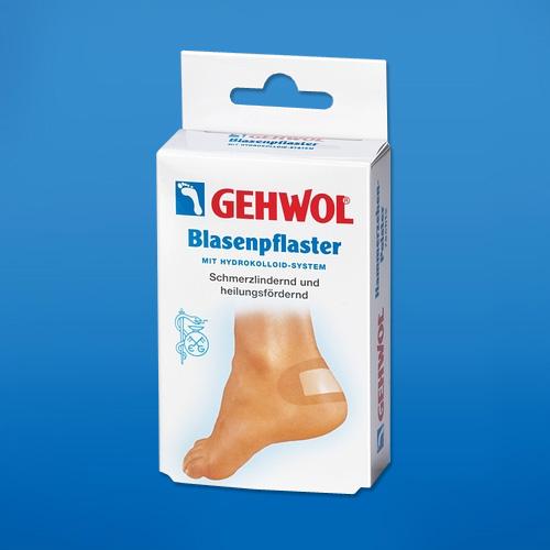Заживляющий пластырь Геволь (Gehwol Blasenpflaster)