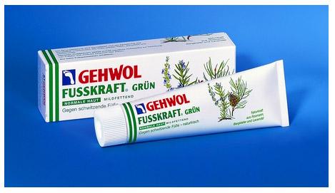Зеленый бальзам Геволь Фусскрафт (Gehwol Fusskraft Grun)