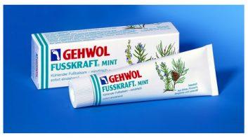 Мятный охлаждающий бальзам геволь Фусскрафт (Gehwol Fusskraft Mint)