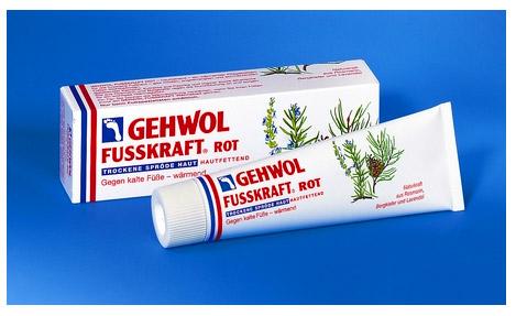 Красный бальзам для сухой кожи Геволь Фусскрафт (Gehwol Fusskraft Rot trockene sprode haut)-75