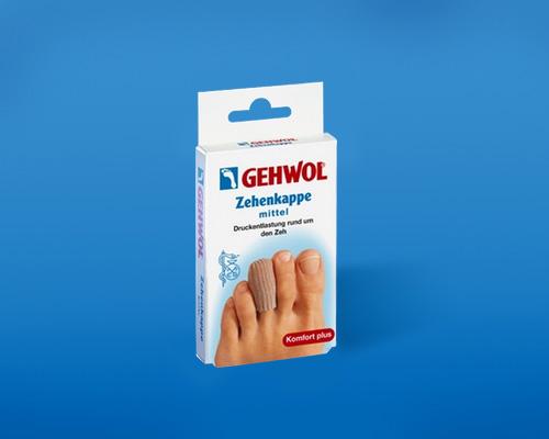 Защитный колпачок на палец Геволь (Gehwol Toe Cap)