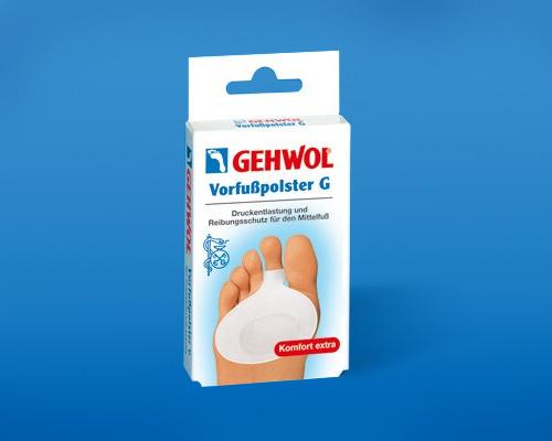 Защитная гель-подушечка под пальцы Геволь G, малая (Gehwol Metatarsal Cushion G)