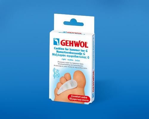 Гель-подушечка под пальцы Геволь G, левая (Gehwol Cushion for hammer toe G)