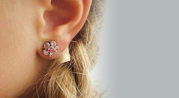Прокалывание одного уха
