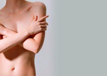 Сахарная эпиляция: грудь
