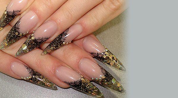Оформление ногтей типсами