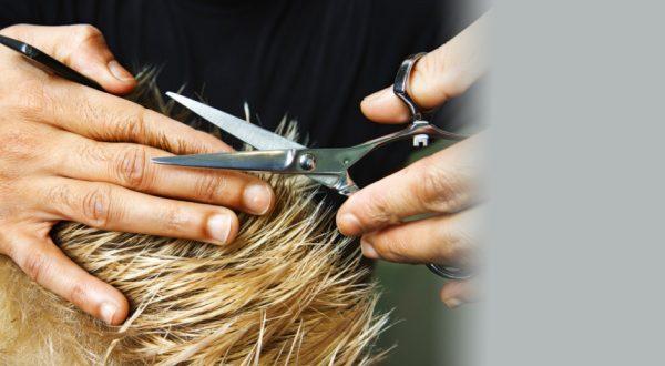 Стрижка после колорирования, мелирования, блондирования, окрашивания, химии или ритуала