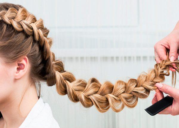косы на длинные волосы для девушек на работу